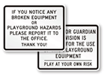 How to Use Equipment Signs