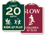 Signature Playground Signs