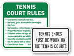 Court and Field Signs