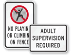 All Playground Signs