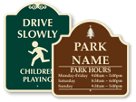 Signature Playground Signs