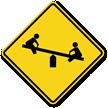 Playground Symbol - Traffic Sign