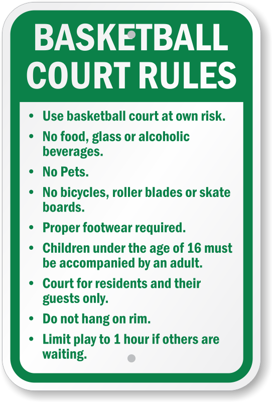 rules of basketball Youth basketball coaches must teach these 10 basketball rules  the teams will  switch off with the possession arrow on every jump ball situation or at the.
