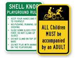 Custom Playground Signs