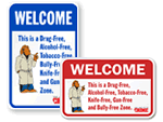 McGruff School Safety Signs
