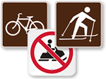 Outdoor Sports Signs