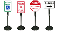 Signs on Portable Stand