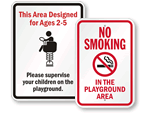 Playground Signs - All
