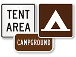 Campsite Markers