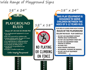 Playground Signs - All Signs
