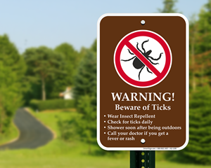Tick Warning Signs