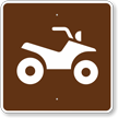 All-Terrain Trail, MUTCD Guide Sign for Campground