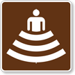Amphitheater, MUTCD Guide Sign for Campground
