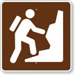 Climbing, MUTCD Guide Sign for Campground