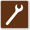 Mechanic, MUTCD Guide Sign for Campground