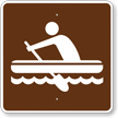 Rafting, MUTCD Guide Sign for Campground