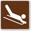 Sledding, MUTCD Guide Sign for Campground
