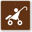 Strollers, MUTCD Guide Sign for Campground