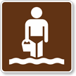 Wading, MUTCD Guide Sign for Campground