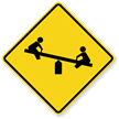 Playground Symbol - Traffic Sign