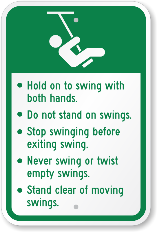 Rules for swinging